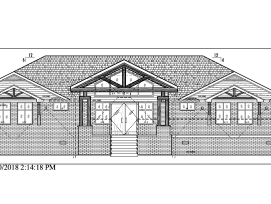 A rendering shows the future Village Veterinary Hospital