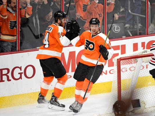 NHL: Chicago Blackhawks at Philadelphia Flyers
