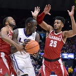 LSU to play at a red hot Alabama, which will have dunking sensation Donta Hall this time