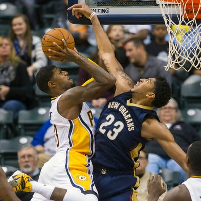 Pacers' Paul George 'not comfortable' playing the 4 position