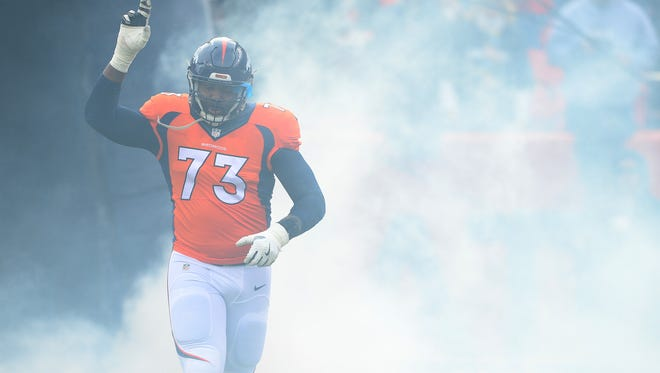 New Chargers T Russell Okung is joining his third team in three years.