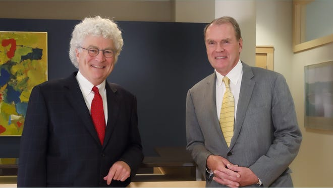 Del Wilson (left) and David Uihlein