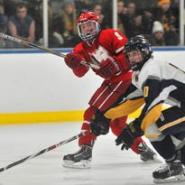 Sam Storlie had a goal for Wisconsin Rapids in a loss to SPASH in a WVC boys hockey game Thursday.