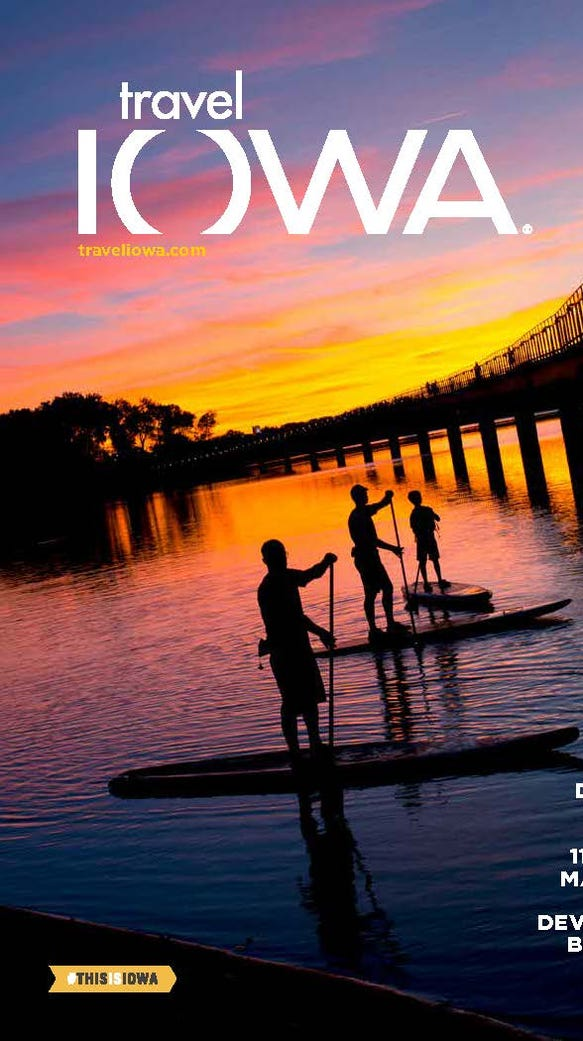 This cover features a colorful shot at Gray's Lake