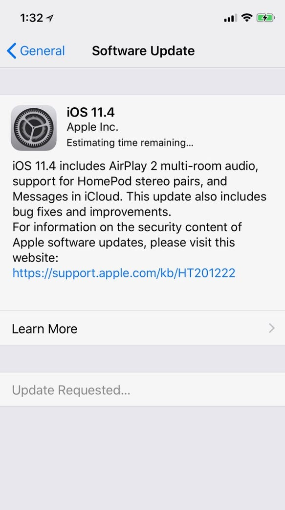 Apple's iOS 11.4 software update adds support for multi-room