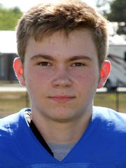 Danbury's Cole Shortridge rushed for two scores last week.
