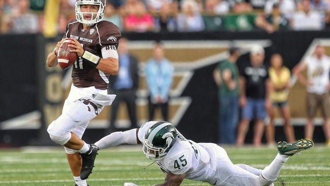 Western Michigan Broncos quarterback Zach Terrell ranked second in pass efficiency in the MAC this season.
