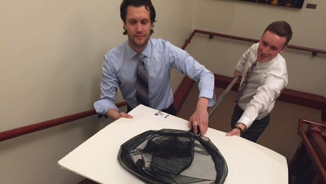 Brendon Cross ‹ policy researcher (right) Nick LeFevre ‹ intern (left)