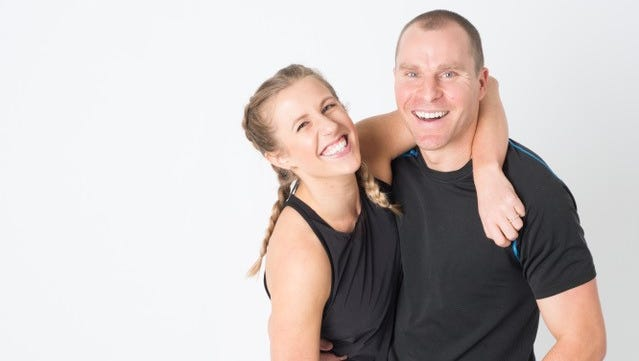 Emmy and Lee Singer are the owners of Inner Light Yoga in 12South.