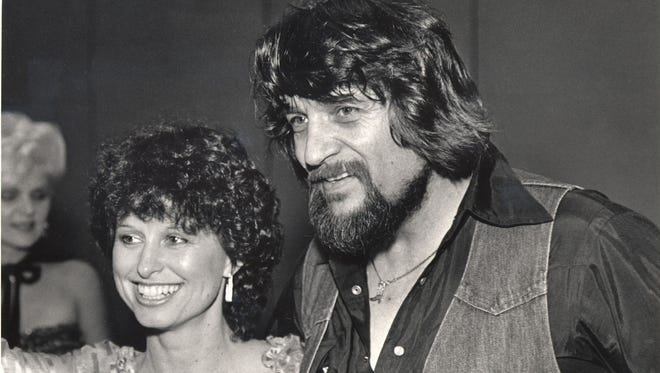 """Nobody but the two people involved know or sense what a marriage is,"" Jessi Colter says of her marriage to Waylon Jennings. The two are seen in 1982."