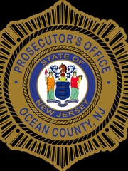 The seal of the Ocean County Prosecutor's Office.