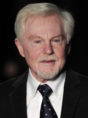 "British actor Derek Jacobi attends the UK Premiere of ""My Week with Marilyn"" in central London on November 20, 2011."