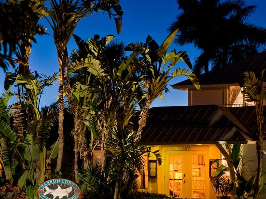 The Tarpon Lodge began as a fishing lodge that developed beautifully into an 18-room house on a 32-acre estate.