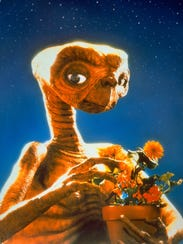 E.T., a still from the Steven Spielberg film