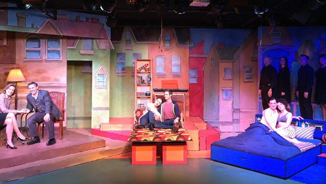 """""""Baby: The Musical"""" is playing at the Coachella Valley Repertory Theatre in the Atrium in Rancho Mirage."""
