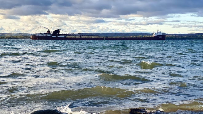 The Hon. James L. Oberstar quietly passed Sherman park on the evening of Thursday, Oct. 1 as it made its way to Toledo, Canada.