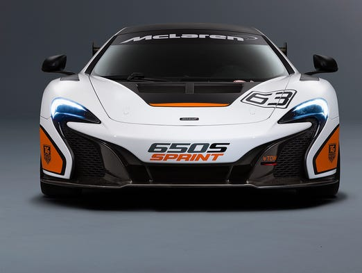 McLaren is bringing the 650S Sprint to show at Pebble Beach this year