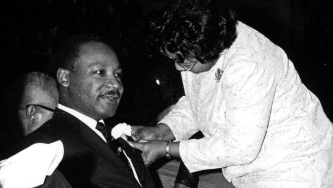 Dr. Martin Luther King Jr. in Alexandria.