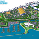 """The Greater Oshkosh Economic Development Corp. unveiled this vision for an Oshkosh """"Sawdust District,"""" anchored by a stadium for a Milwaukee Bucks farm Club, mixed-use office space and a transformed Pioneer Resort and Marina."""
