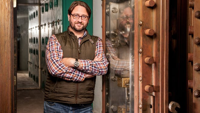 Christopher S. Aker, CEO of South Jersey-based Linode, has moved his web-services business to a Philadelphia building with both historic and pop-culture cred.