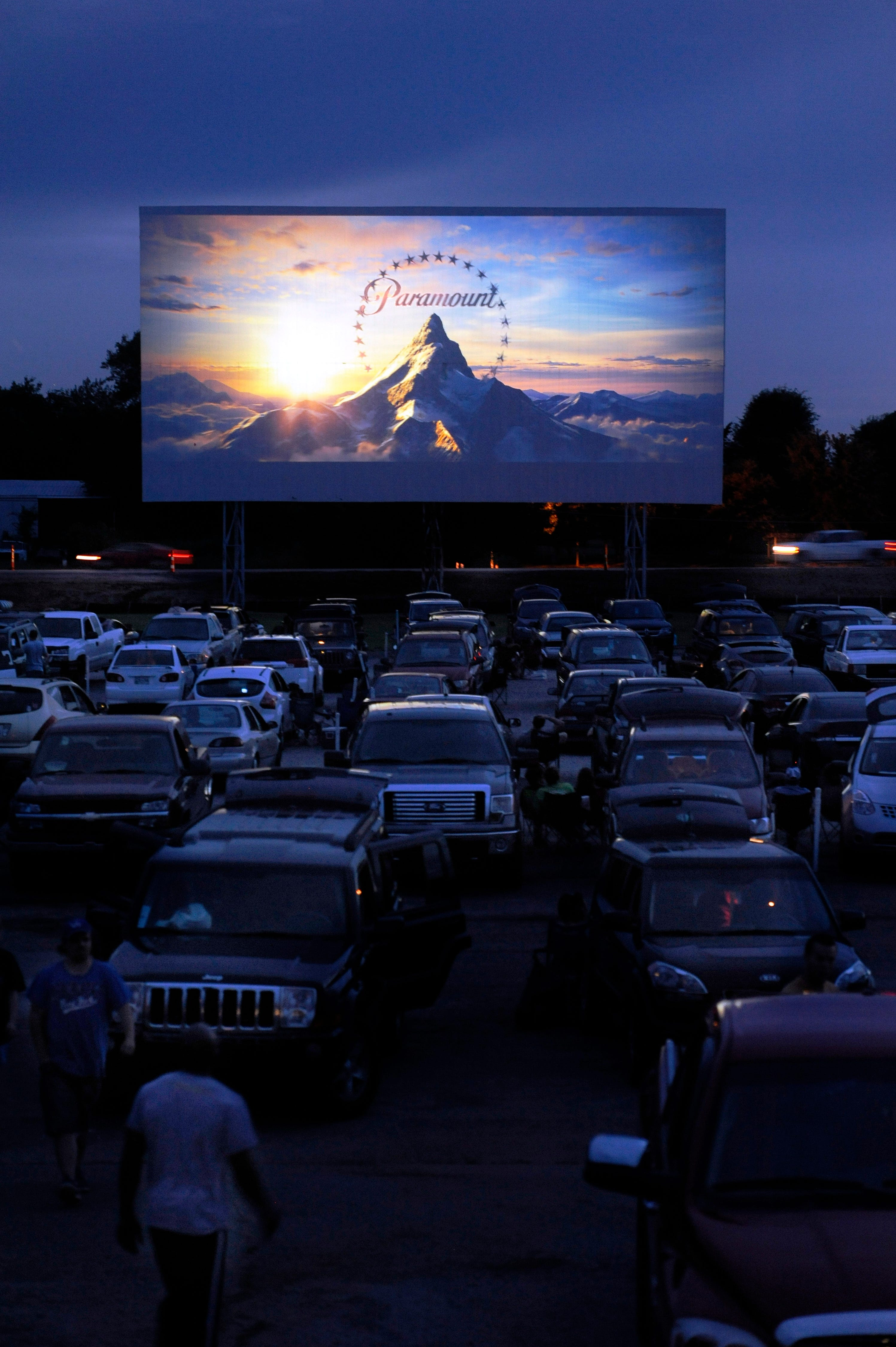 Franklin ky drive in now showing