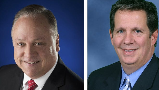 Dee Stanley and Joel Robideaux, candidates for Lafayette City-Parish President will participate in an open forum Wednesday starting at 6 p.m.