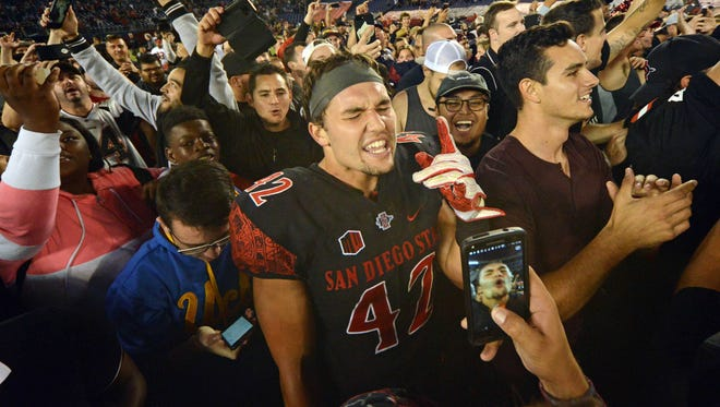 San Diego State is now 2-0 vs. the Pac-12 in 2017 after beating Stanford Saturday night.