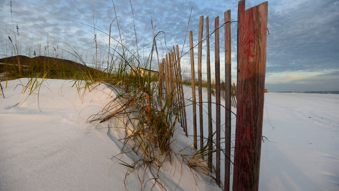 Pensacola Beach is set to have a the third beach renourishment project in 13 years. An estimated 1.75 million cubic yards of sand will be deposited along the 8.1 miles of beach shoreline when the weather begins to cooperate.