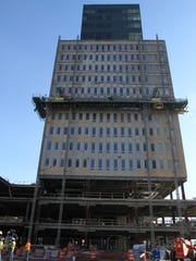 A view of Tower 280 which will be a mix of residential