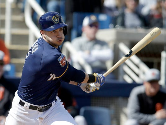 MLB: Spring Training-San Francisco Giants at Milwaukee Brewers
