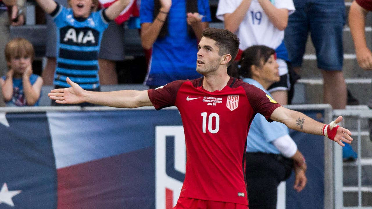 55089c4f7fc Christian Pulisic nets two as USMNT wins key World Cup qualifier