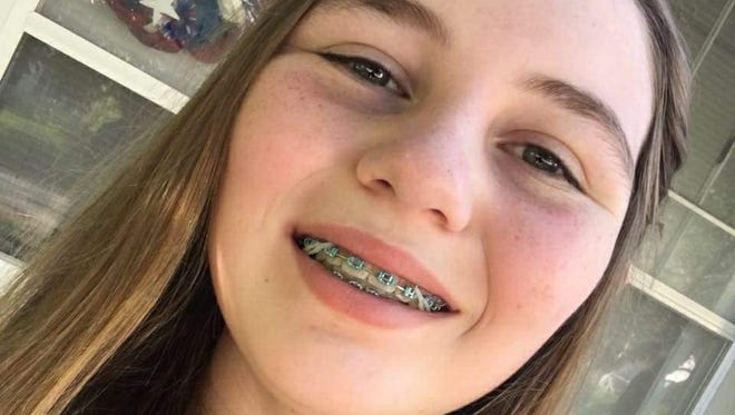 Kinsee Rooker, 14, was killed when a car struck her on Iowa Highway 2 during cross country practice in Shenandoah June 7.