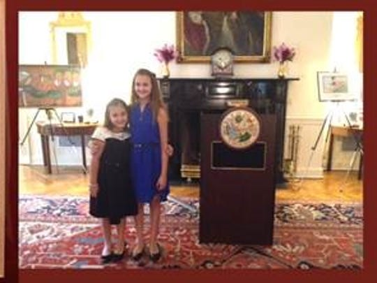 Lee Virtual School sixth-grader Julie Canete won a