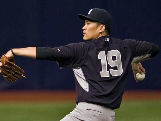 Yankees Rays Baseball (2)