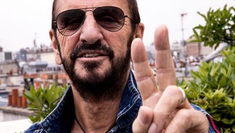 Ringo Starr recalls being a 'blackout' drunk at event honoring Grammy-winning artist Joe Walsh and wife Marjorie Bach Walsh's work to help addicts. (Oct. 19)