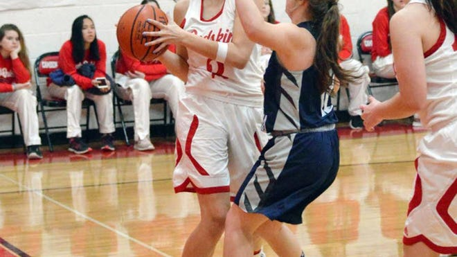 Jocelynn Nicholls of Camden-Frontier is eyeing her fourth consecutive year at the varsity level.