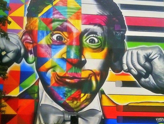 A kaleidoscope-themed masterpiece in Lodz, Poland,