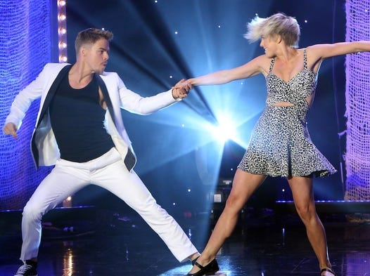 The Hough siblings have branched out from dancing into other areas of show business. Could they become so successful in other mediums that dancing becomes secondary? Judging by these performers, it is a possibility.