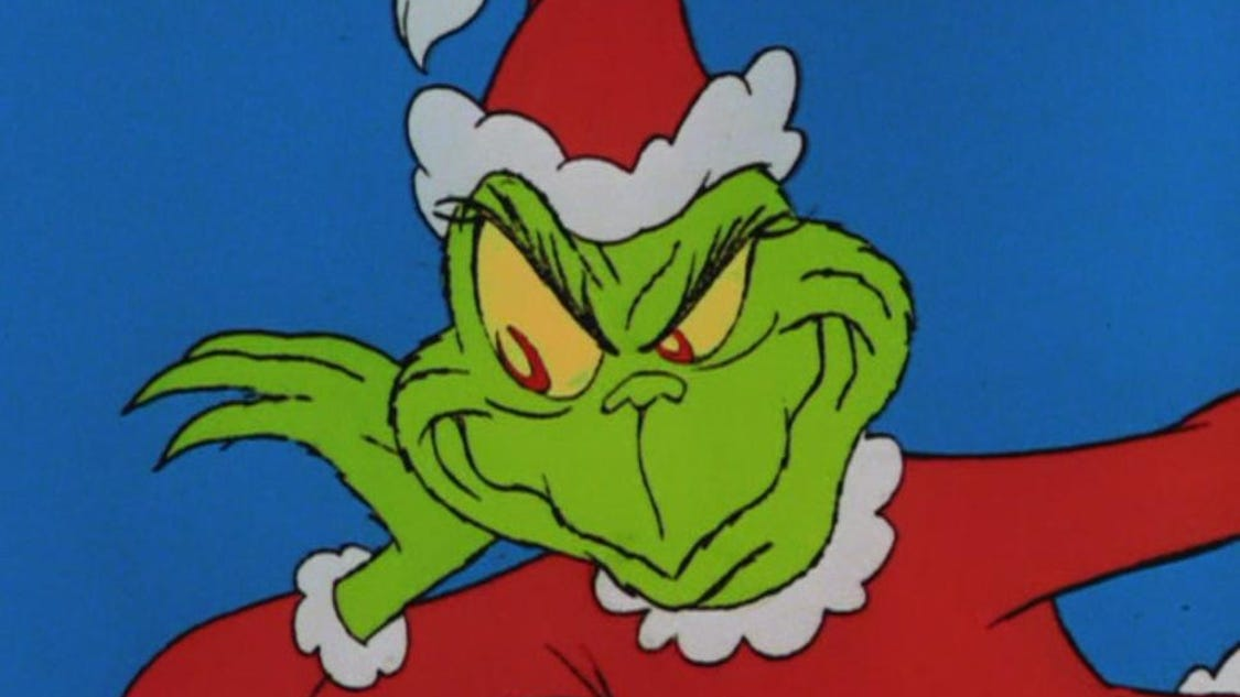 TV Wednesday: Dr. Seuss's 'How the Grinch Stole Christmas'