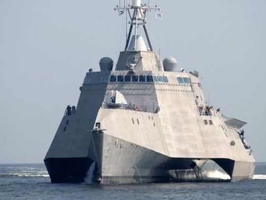Littoral combat ship. Austal is an Australian shipbuilding