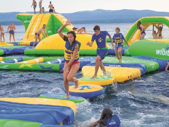 Nashville Shores To Add Aqua Park Water Playground In