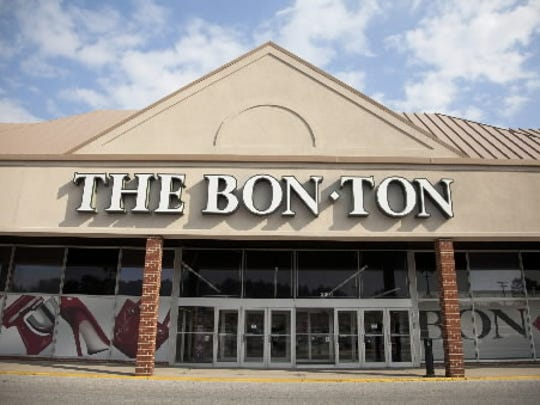 Here's another suburban store in the York area: The Bon-Ton at Queensgate Towne Center in  York Township. The retail chain grew to two headquarters - in York and Milwaukee - and operates scores of stores under the names of  Bon-Ton operates department stores under the brand names Bon-Ton, Boston Store, Bergner's, Younkers, Carson's, Elder-Beerman and Herberger's.