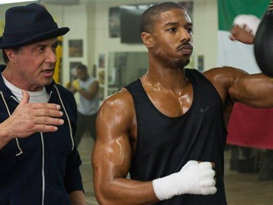 Sylvester Stallone Michael B. Jordan