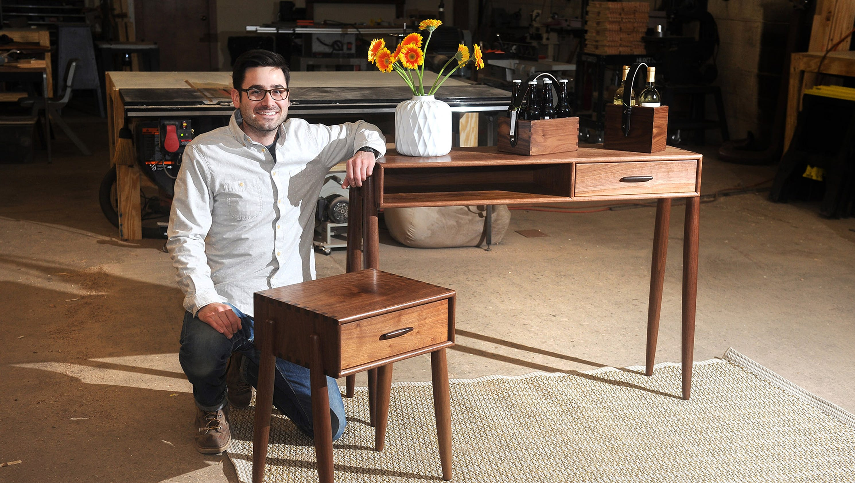 Furniture designers are coming out of detroit 39 s woodwork for D furniture galleries going out of business