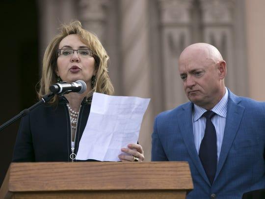 Former U.S. Rep. Gabrielle Giffords.