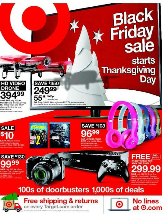 Target unveiled its Black Friday deals on Monday. The announcement, which featured the standard discounts on toys, movies and electronics, also contained a bit of a surprise: The retailer is.
