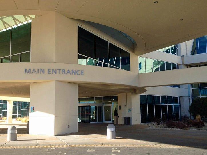 Carson Tahoe Regional Medical Center in Carson City.