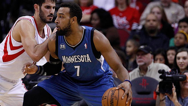 Power forward Derrick Williams (7) is getting a fresh start in Sacramento with the Kings.