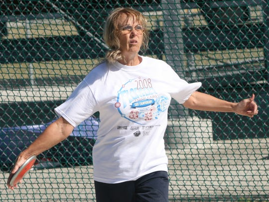 Neva Weiskopf said her main goal in 2017 is winning a gold medal in the National Senior Games in June in Birmingham, Alabama.