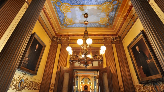 The Senate lobby at the Capitol is seen in this 2013 State Journal file photo.